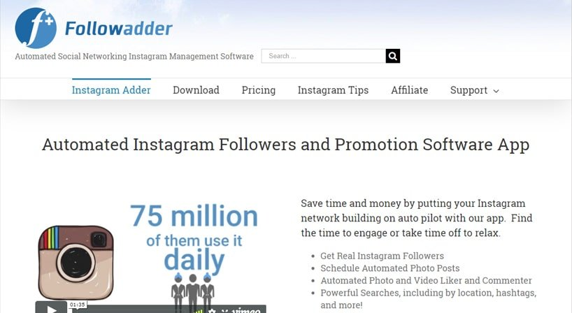 Followadder Review: Auto Followers & Promotions