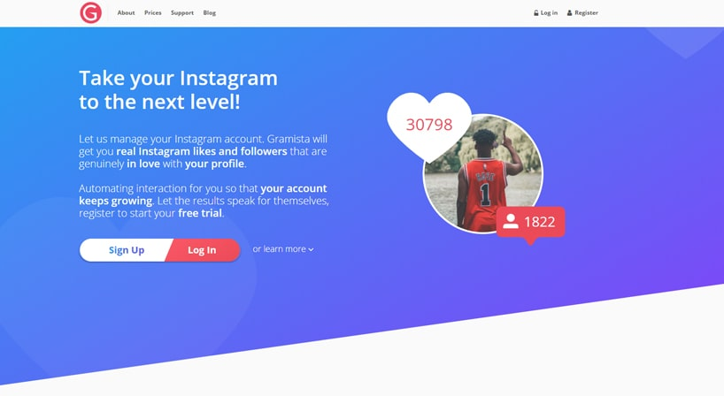 Gramista Review: Human-Like Instagram Support