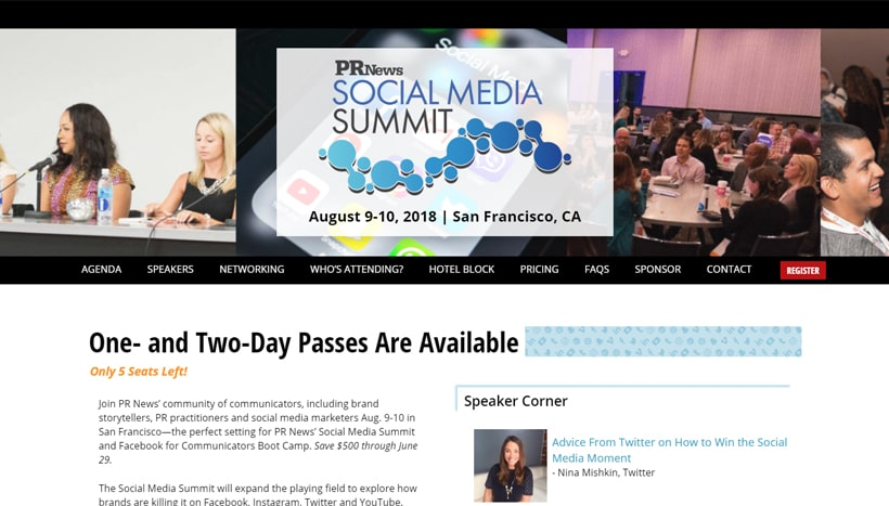 Best Social Media Conferences & Events