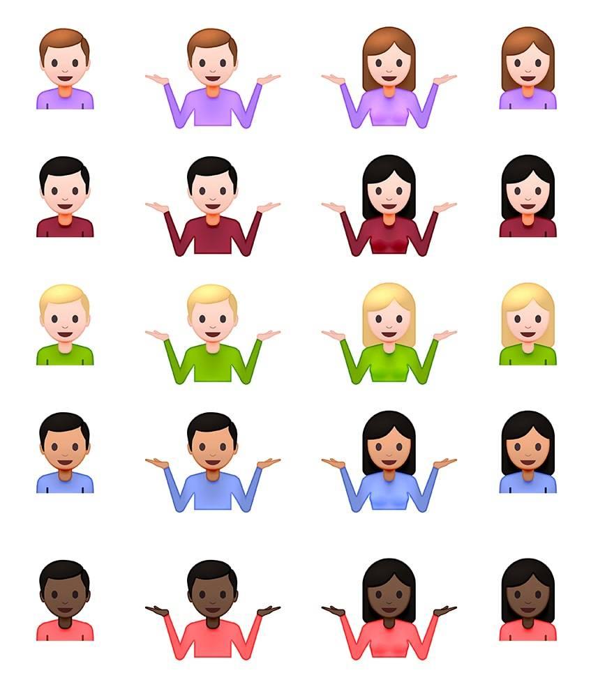 Shrug Emoji History