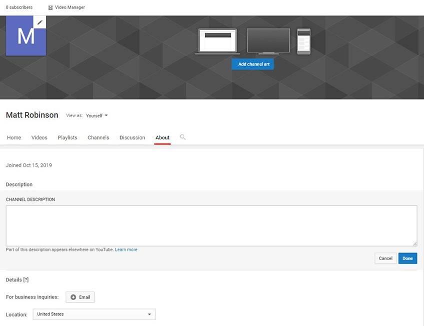 How-Make-YouTube-Channel-Description