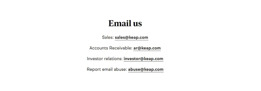 Keap-Email