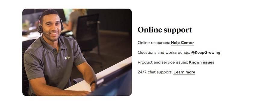 Keap-Online-Chat