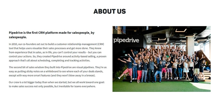 Pipedrive-History