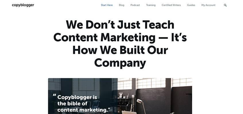 Copyblogger Teach