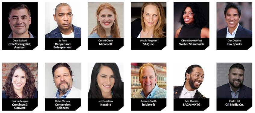 Digital Marketing Summit Speakers