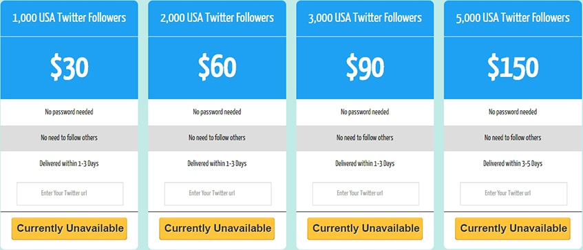 Fastlykke Twitter Followers USA
