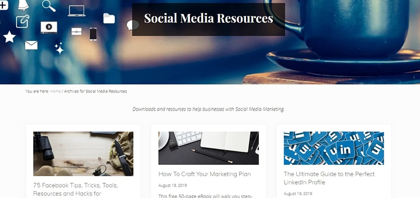 Social Media Hat Resources