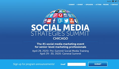 Best Social Media Conferences & Events