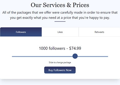 Social Viral Price 1000 Followers