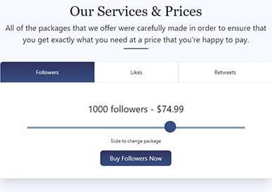 Social Viral Price 1000 Followers