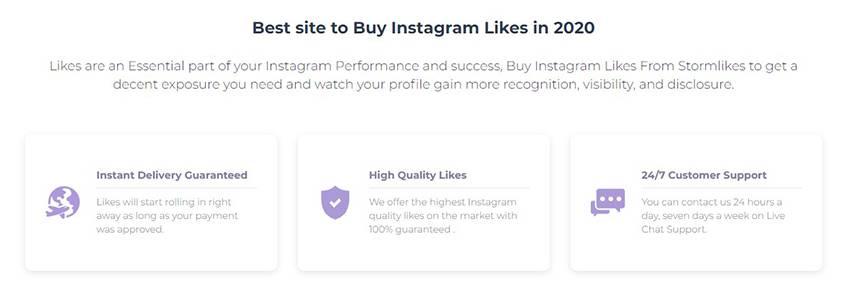 StormLikes Buy Instagram Likes