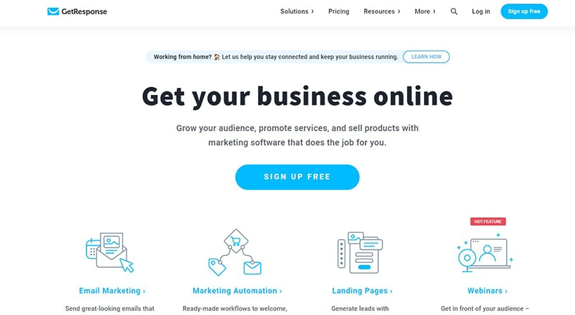 GetResponse Review: Make Big Marketing Moves With Simple Solutions