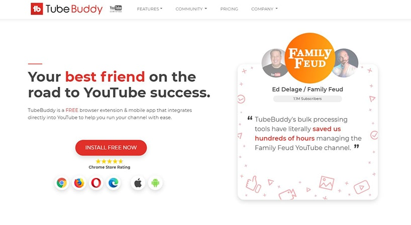 TubeBuddy Review: Premium Tool to Optimize Your Videos