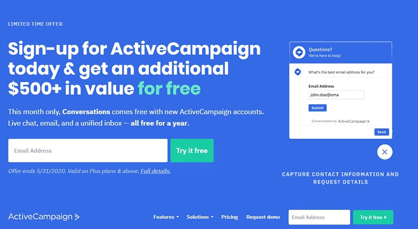 Cold Lead Automation Active Campaign