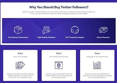 InstaMama Twitter Followers Steps