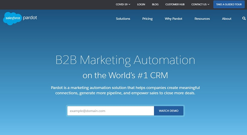 Pardot Review: B2B Marketing & Sales Automation For Faster Growth