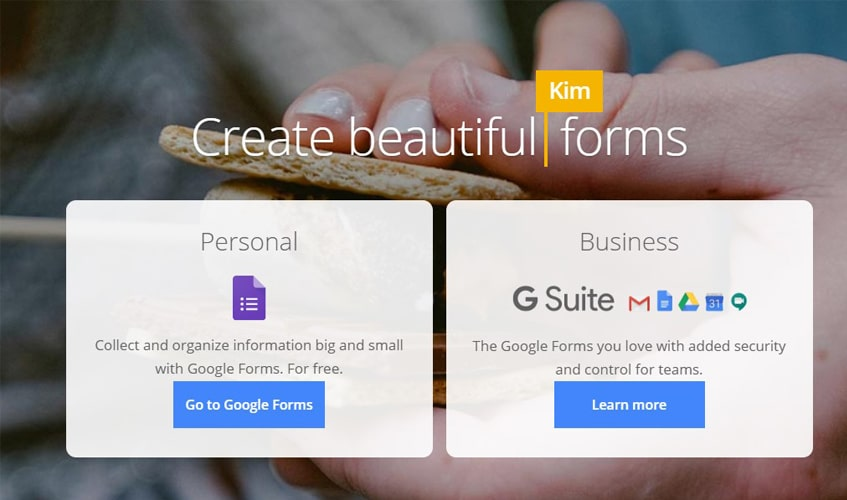 Google Forms new