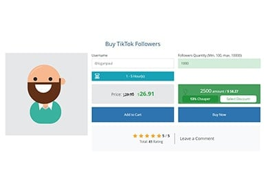 Instafollowers TikTok Followers