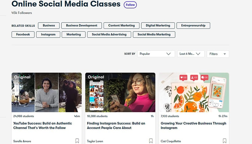 Best Social Media Marketing Courses in 2020
