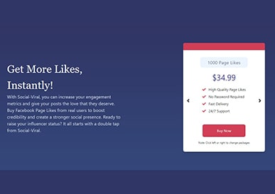 Social Viral Buy Facebook Likes