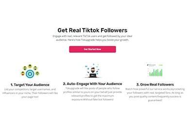 TokUpgrade TikTok Followers