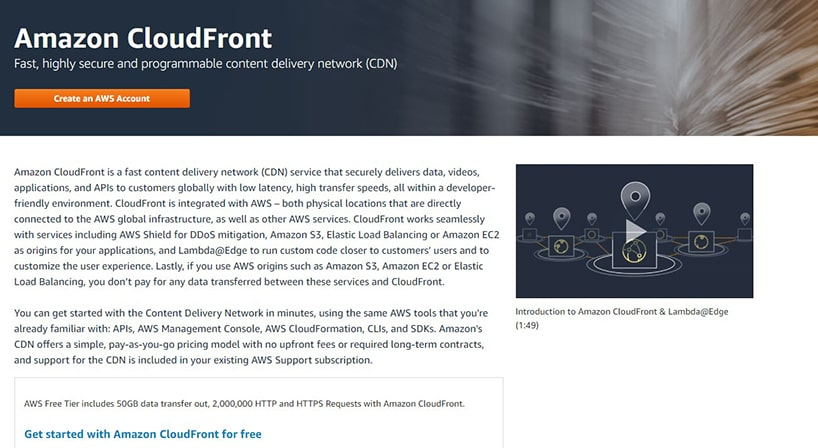 Amazon CloudFront Review: A CDN That Offers Speed & Security