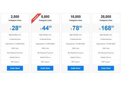 Famoid Instagram Likes Price 25k