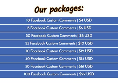 FastFaceLikes FB Comments Price