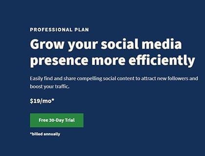 Hootsuite Professional Pricing and Plans