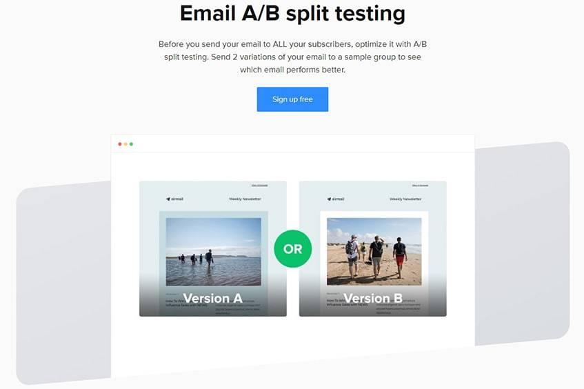Mailerlite A_B Testing