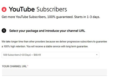 NemoViews YouTube Subscribers Price