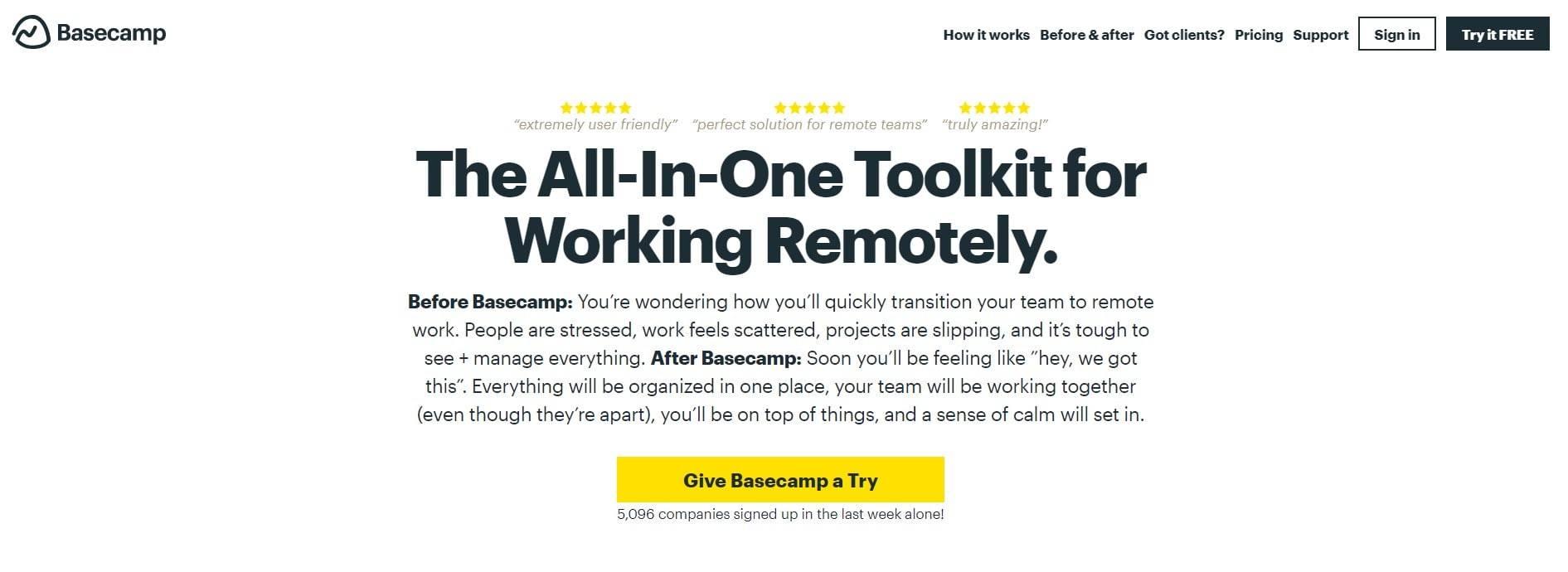 Wrike Basecamp Alternatives
