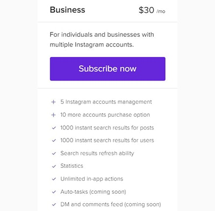 Combin Pricing Business