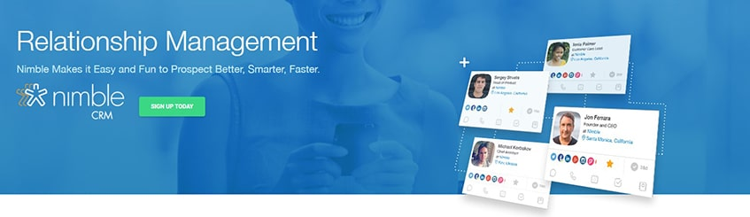 Nimble Customer Relationship Management