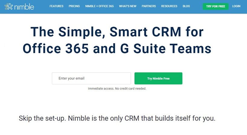 Nimble Review 2021: User-Friendly CRM for Teams