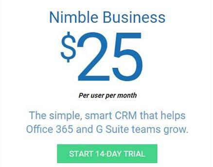 Nimble Pricing Business