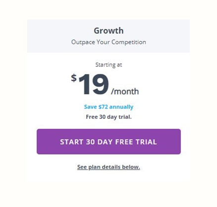 Pricing Growth AdRoll