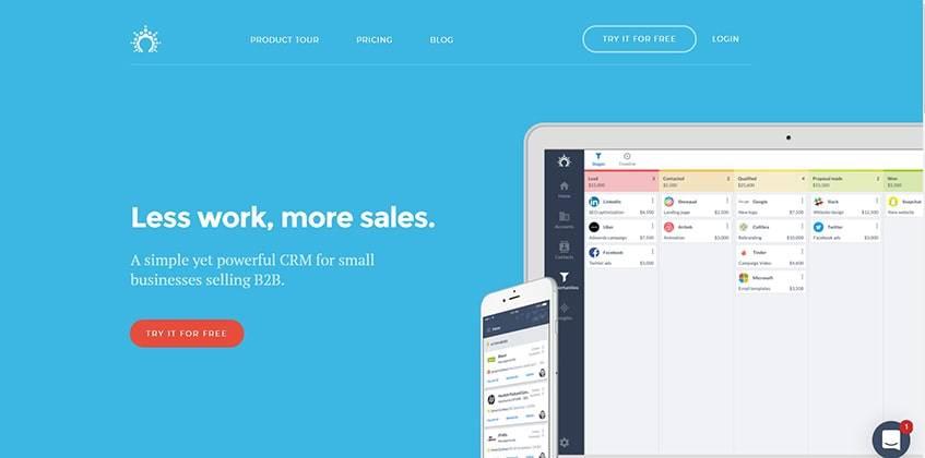Salesflare Main Alternatives