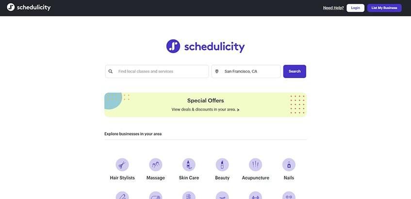 Schedulicity Main Alternatives