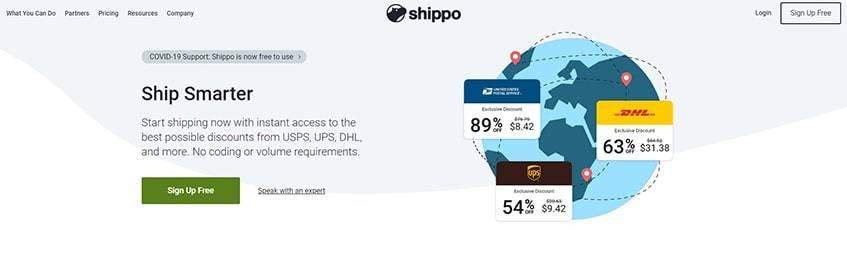 Shippo Main Alternatives