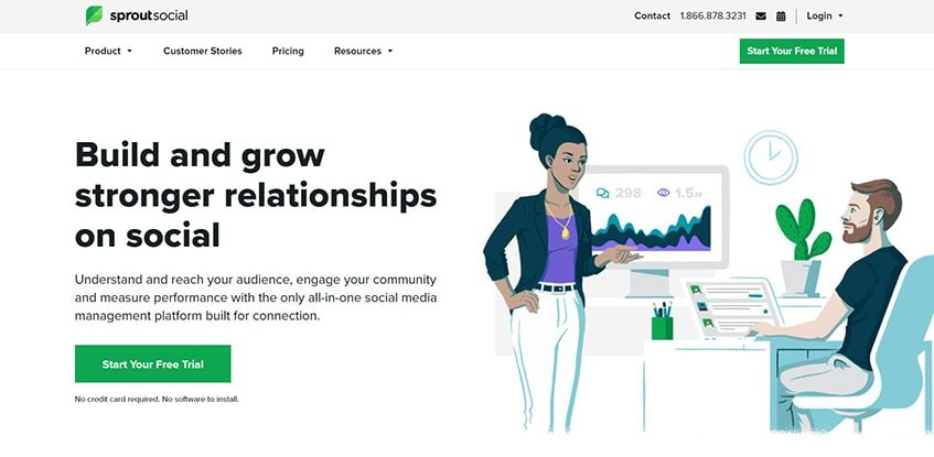 Sprout Social Main Alternatives
