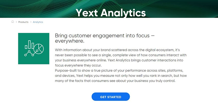 Yext Detailed Analytics