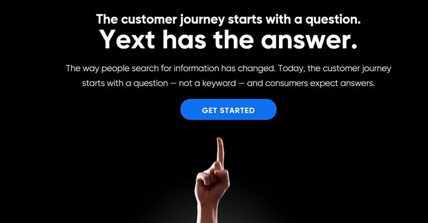 Yext Knowledge Management