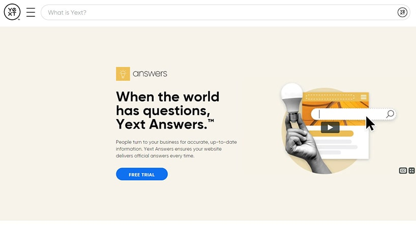 Yext Review: Popular Choice for Serving Brand-Verified Answers