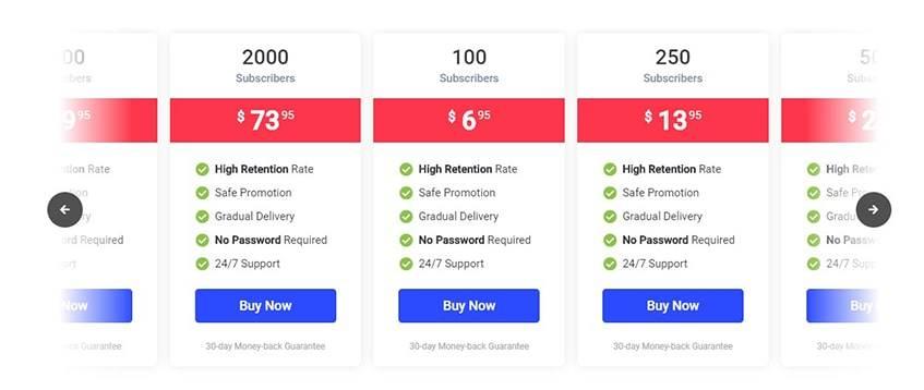 SocialPlus Buy YouTube Subscribers