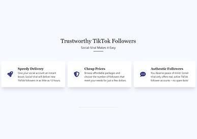 Social Viral TikTok Trustworthy
