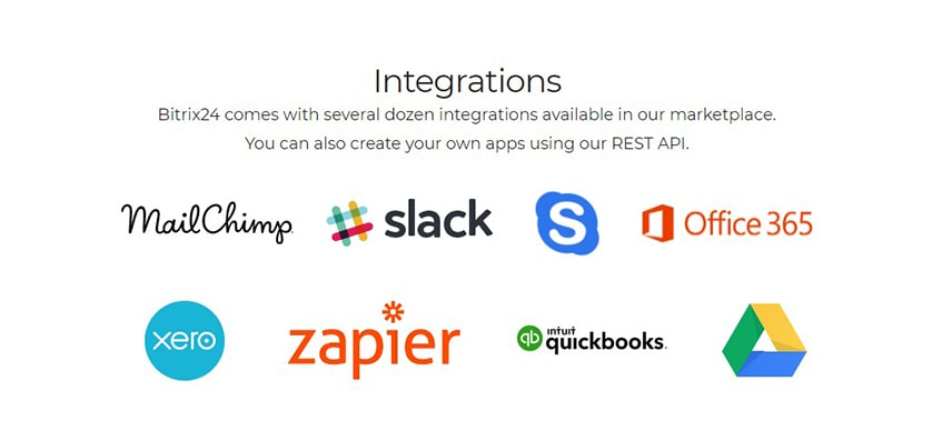 Bitrix24 Integrated Apps