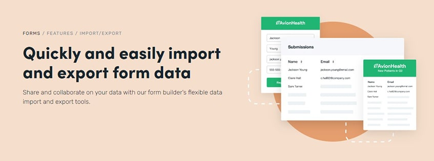 Formstack Data Import and Export