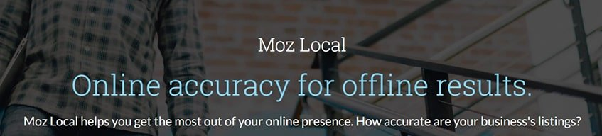 Moz Local Subscription